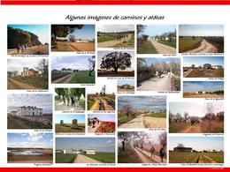plano rutas, imágenes aldeas-caminos